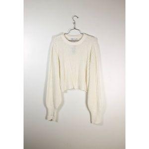 Olivia Culpo Crew Neck Sweater